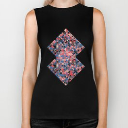 colorful Triangles 1 Biker Tank