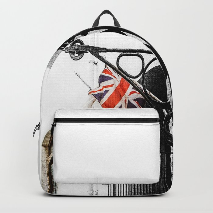 Union Jack/Flag Backpack