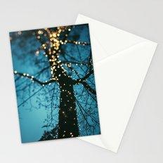 Bokeh tree. Stationery Cards