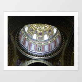 St. Stephens Basilica, Budapest, Hungary Art Print