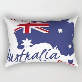 Happy Australia Day 2018 Rectangular Pillow