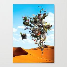 Surreal artwork Canvas Print