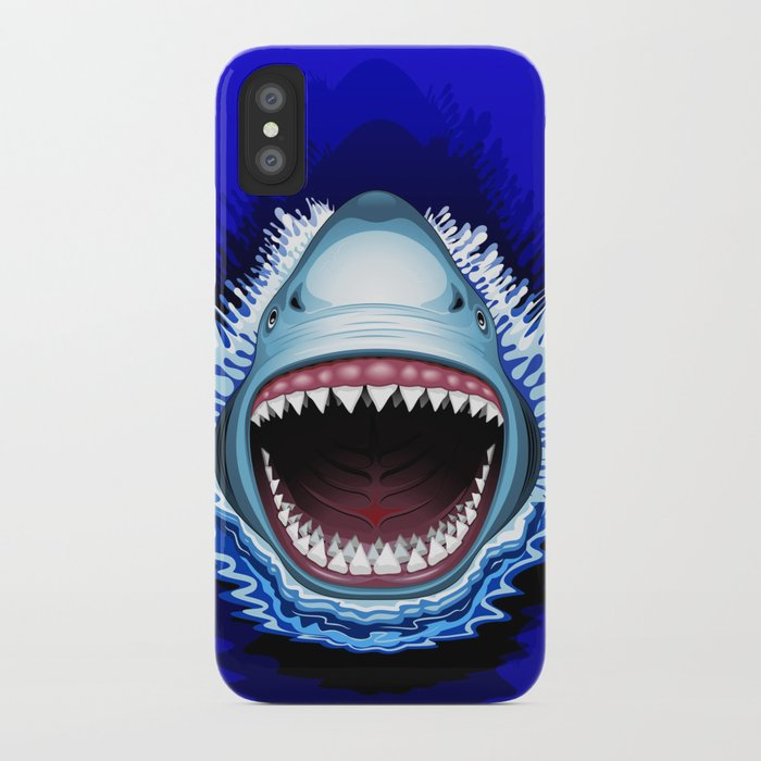 Shark Jaws Attack iPhone Case