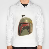boba fett Hoodies featuring boba fett by McKenzie Nickolas