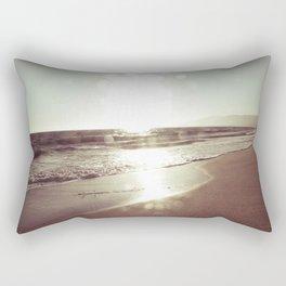 Beach Bokeh Rectangular Pillow