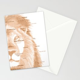 The Regal Type Stationery Cards