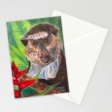 Mona Monkey Stationery Cards