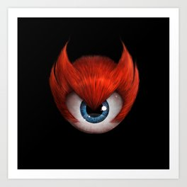The Eye of Rampage Art Print