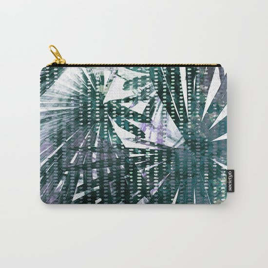 Fan Palms Theme Carry-All Pouch