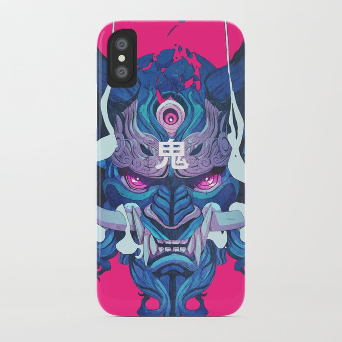 oni mask 01 iphone case