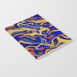 Abstract Alma Llanera Notebook