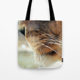 Whiskers. Tote Bag