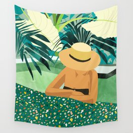 Chill #illustration #travel Wall Tapestry