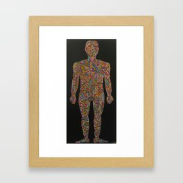 Homo Erectus (rebooted) Framed Art Print