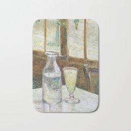 Vincent Van Gogh - Cafe Table with Absinth Bath Mat