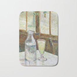 Vincent Van Gogh - Cafe Table with Absinth Bath Mat