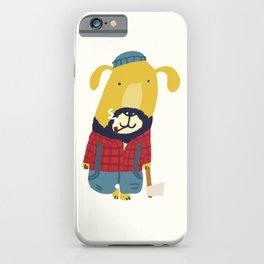 Rugged Roger - the lumberjack iPhone Case