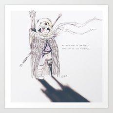 Lostboy Art Print