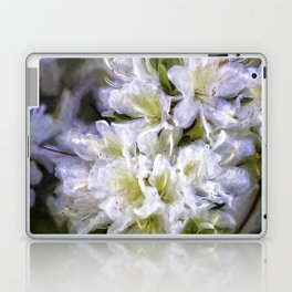 White Rhododendron Laptop & iPad Skin