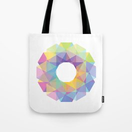 Fig. 036 Colorful Circle Tote Bag