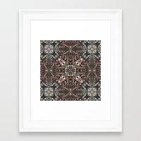 kilim Framed Art Prints featuring Kilim by András Récze