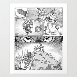 Anticipation : [Falco] Art Print