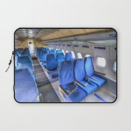 Tupolev TU-154 Russian Airliner Seating Laptop Sleeve