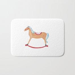 Horse Illustration Bath Mat