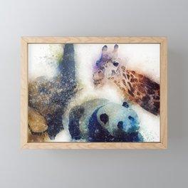 Animals Painting Framed Mini Art Print