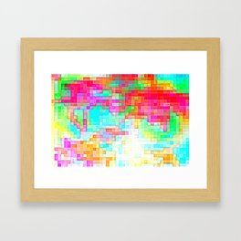 Kaboom Framed Art Print