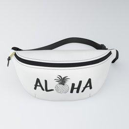 Aloha Pineapple Fanny Pack
