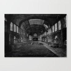 Abandoned mine Canvas Print