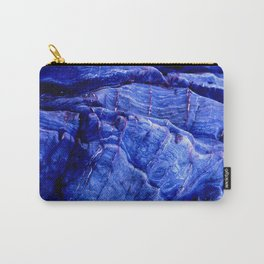 BLUE STONE TEXTURES Carry-All Pouch