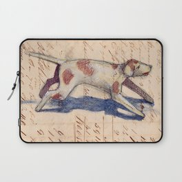 Metal Dog from France Laptop Sleeve
