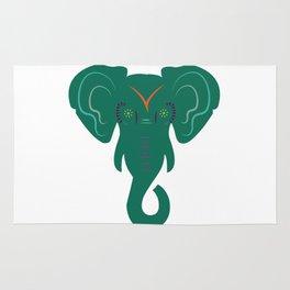 elephant. Rug