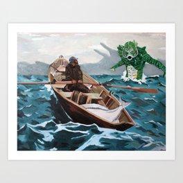 "Winslow Homer's ""Storm Warning"" Revisted Art Print"