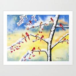 Winter Song 2 Art Print