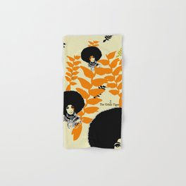 'Hanging Heliconia' Hand & Bath Towel