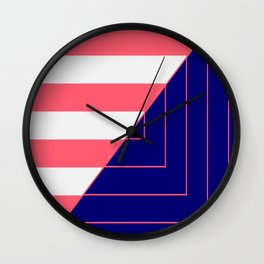 Geometric Forms Wall Clock