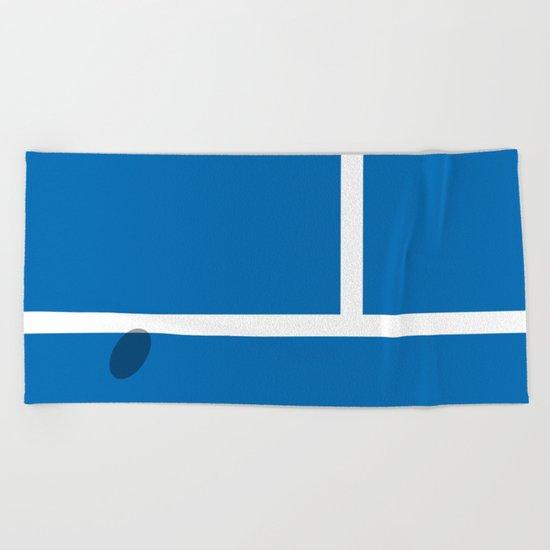 """IN"" - Hawk-Eye Beach Towel"