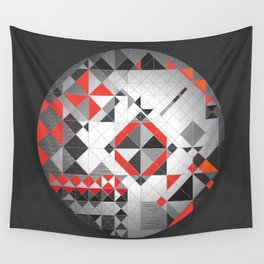 Splash of red Wall Tapestry
