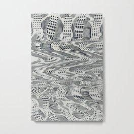NegativeFabrics Metal Print