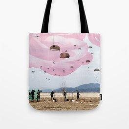 parachute rose Tote Bag