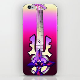 Fusion Keyblade Guitar #134 - Silent Dirge & Sign of Innocence iPhone Skin