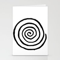 fibonacci Stationery Cards featuring Fibonacci by Geryes