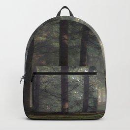 Misty forest - Kessock, The Highlands, Scotland Backpack