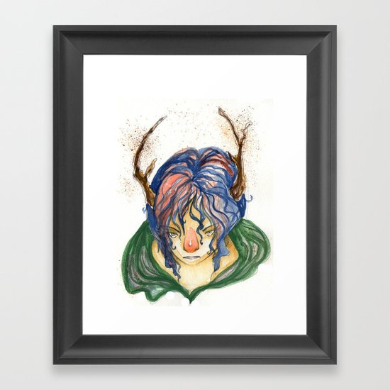 Forest Spirit Framed Art Print