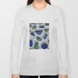 Sea Glass Mosaic Detail Long Sleeve T-shirt