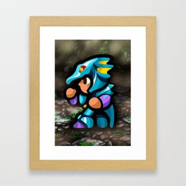 Kain Dragoon Framed Art Print