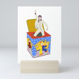 disco in the box Mini Art Print
